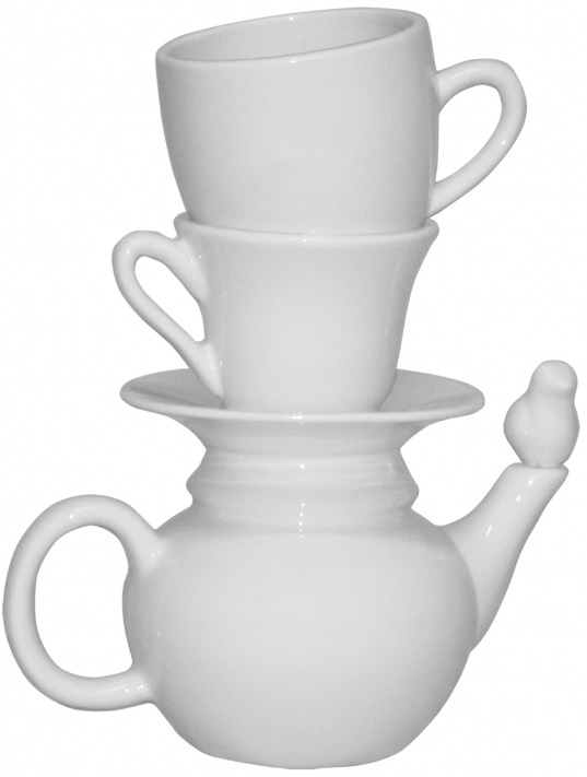 vaas Cup and Saucer invotis