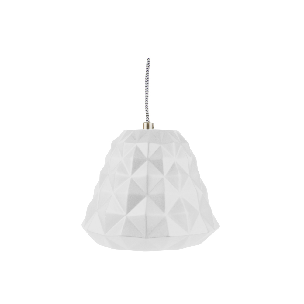 Leitmotiv Pendant cast mini wit