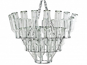 Leitmotiv Hanglamp Wine Bottle Chandelier