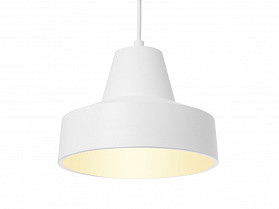 Leitmotiv Ribble Hanglamp wit medium rand